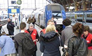 Controles renforcés le 15 mars 2017 en gare de Lille-Flandres