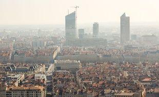 L'alerte 1 a la pollution aux particules fines a été déclenchée samedi 3 décembre 2016 dans le bassin Lyonnais.  Illustration.
