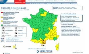 L'Aude et les Pyrénées-Orientales sont toujours placés en vigilance orange vent