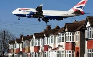 Un Boeing 747 de British Airways en phase d'atterrissage à l'aéroport londonien d'Heathrow (photo d'illustration)