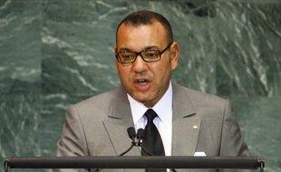 Le roi du Maroc Mohammed VI à l'ONU, à New York, le 20 septembre 2010.