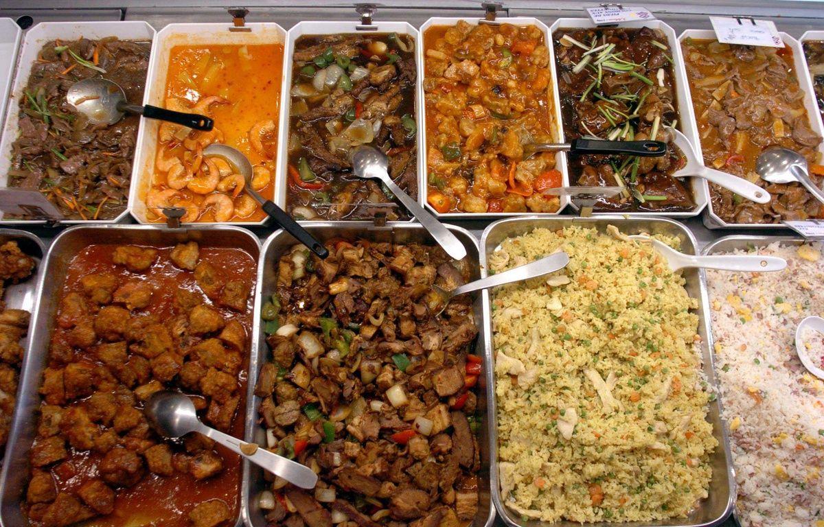 Un buffet chinois à volonté. Illustration. – 20 Minutes - Sipa