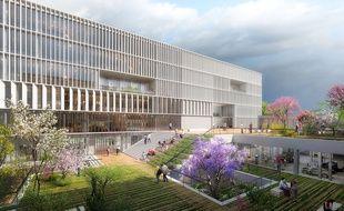 Le campus de Nice formera ses étudiants en alternance aux métiers du futur.