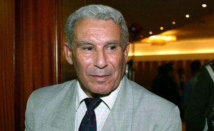 Le colonel Ali Tounsi, directeur général de la sûreté nationale (DGSN),lors d'un colloque international sur le terrorisme à Alger, le 28 octobre 2002.
