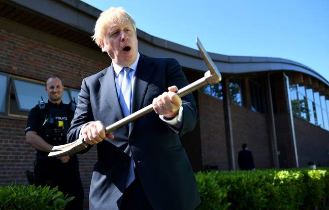 Boris n'est pas là pour rigoler avec le Brexit.