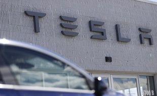 Un concessionnaire Tesla dans le Colorado, le 7 juin 2020.