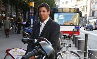 David Larcher, le fondateur de la start-up Coovia..