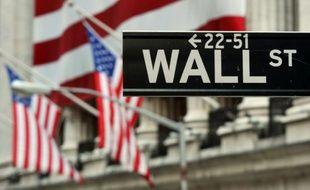 La rue de Wall Street, à New York le 5 août 2011