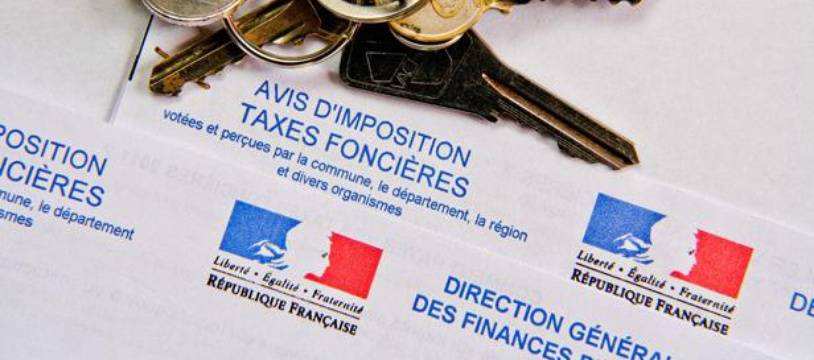 Taxes foncières, illustration.