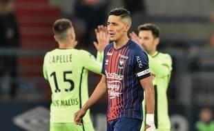 Le match entre Caen et Angers, en avril 2019