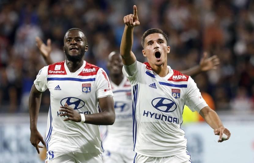 Maillot Extérieur Olympique Lyonnais Tanguy NDOMBELE