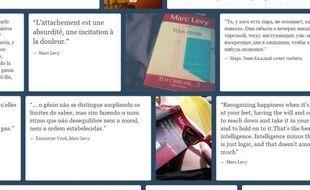 Des citations de Marc Levy sur Tumblr.