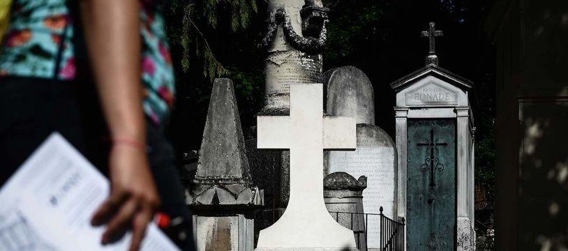 Le cimetière du Père Lachaise à Paris