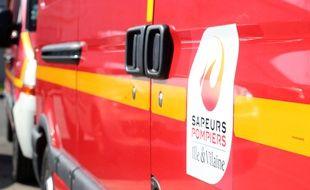 Illustration d'un camion de pompiers en Ille-et-Vilaine.