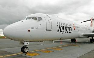 Volotea est à Nantes depuis un an.