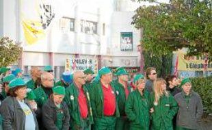 Les salariés de l'usine de Fralib risquent de vivre une année agitée.