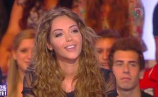 Nabilla Benattia dans «Touche pas à mon poste» sur D8.
