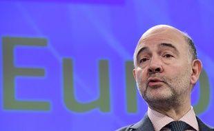 Pierre Moscovici à Bruxelles, le 22 février 2017.