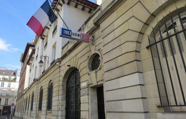 La caserne des Minimes dans le 3e arrondissement de Paris