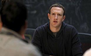 Mark Zuckerberg, fondateur de Facebook, le 9 novembre 2017.