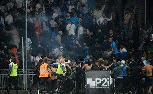 Mercredi soir, au stade Raymond-Kopa, des supporters marseillais ont voulu en découdre avec leurs homologues angevins.