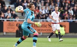 Le gardien de but Cédric Carrasso a joué son ultime match sous le maillot des Girondins.