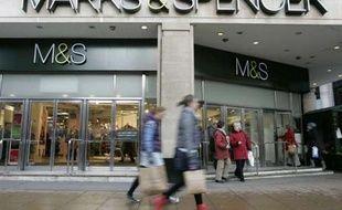 Une boutique Marks & Spencer à Londres en 2011.
