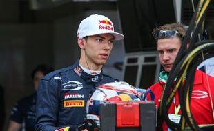 Pierre Gasly lors du GP de Monaco, du 26 au 29 mai 2016.