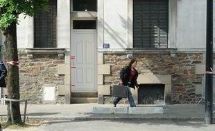 La maison de la famille Dupont de Ligonnès à Nantes.