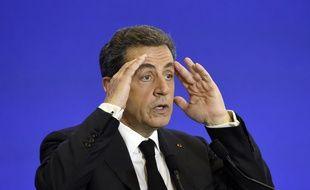 Nicolas Sarkozy, le 13 juin 2015 à Paris. AFP PHOTO / ALAIN JOCARD