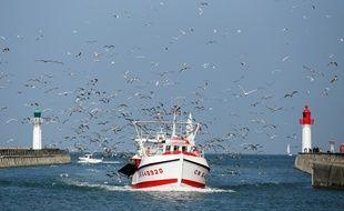 Un bateau de pêcheurs (image d'illustration).