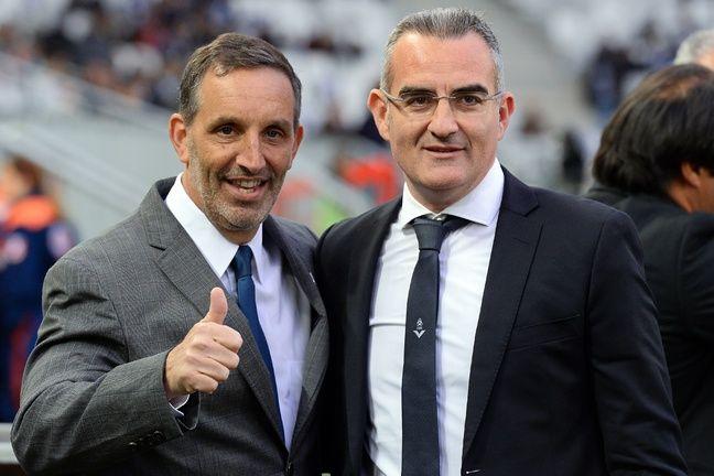 Joe DaGrosa, le propriétaire des Girondins avec Eduardo Macia.