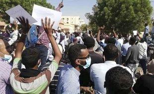 Une manifestation antigouvernementale à Khartoum, au Soudan, le 25 décembre 2018.