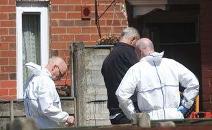 Une perquisition a eu lieu au domicile de l'auteur présumé de l'attentat-suicide de Manchester, Salman Abedi, à Fallowfield, le 23 mai 2017.