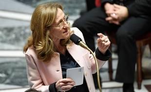 La ministre de la Justice Nicole Belloubet répond aux questions au gouvernement, mardi 5 février 2019.