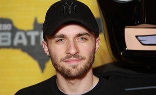 Le youtubeur Lucas Hauchard, plus connu sous le pseudonyme de Squeezie, en février 2017.