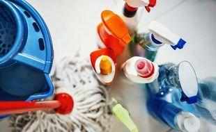 L'Institut national de la consommation a développé un système de notation pour indiquer la dangerosité des produits ménagers.