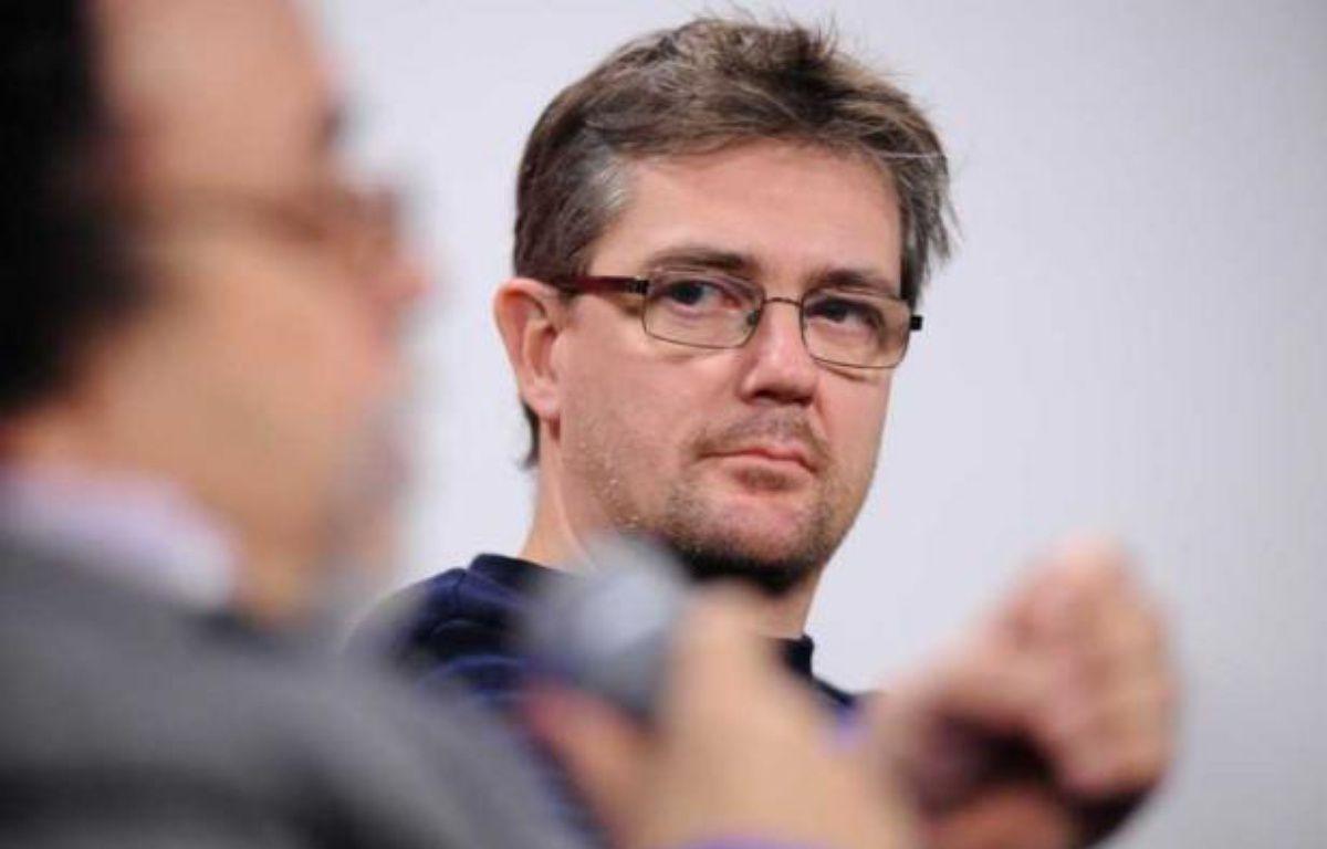 Charb, directeur de la publication de «Charlie Hebdo», le 20 janvier 2012 à Nantes. – SALOM-GOMIS SEBASTIEN/SIPA