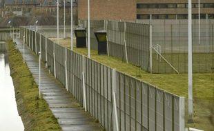 Vue de la prison de haute sécurité de Bruges, le 20 mars 2016 où est détenu Salah Abdeslam