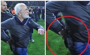 Scène absolument surréaliste sur la pelouse du PAOK