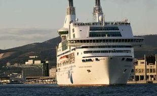 Un navire de la SNCM.