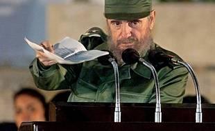 Fidel Castro, le 2 décembre 1999.