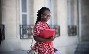 Sibeth Ndiaye à la sortie du Conseil des ministres, le 24 juin 2020.