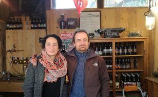 Imène et Franck Julich ont démarré il y a moins de cinq ans, et ils ont vu leur activité de brasserie artisanale prendre de l'ampleur.