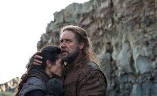 Jennifer Connelly et Russel Crowe dans le film Noé.