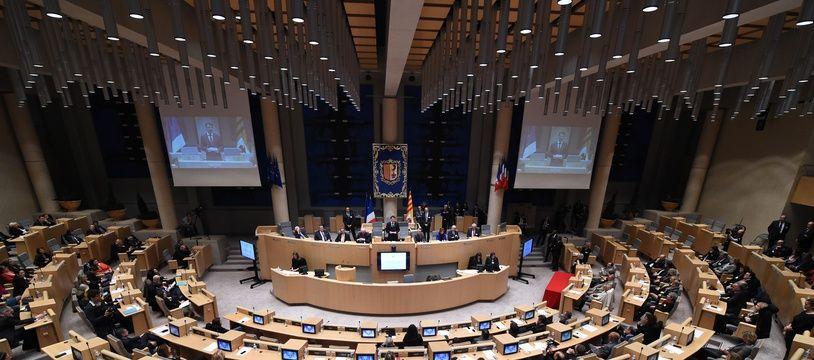 Le conseil régional de Paca