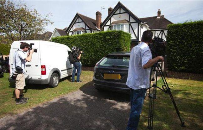 La maison deSaad al-Hilli, victime présumée de la tuerie de Chevaline, à Claygate dans la banlieue de Londres, le 6 septembre 2012.