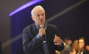 Jean-Marie Cavada, député européen, le 14 juin 2014 à Paris.