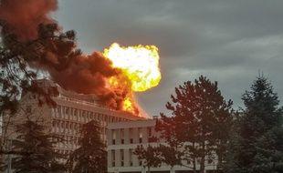 Une explosion s'est produite ce jeudi 17 janvier vers 9h10 sur le campus de la Doua près de Lyon. Trois personnes ont été légèrement blessées.