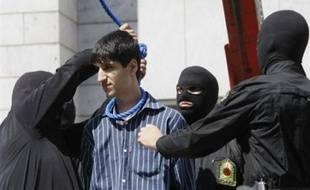 Treize Iraniens, dont une mère de famille, ont été pendus mercredi en Iran pour des crimes allant du trafic de drogue au meurtre, alors que l'année 2007 s'est achevée sur un record d'exécutions par rapport à la précédente.